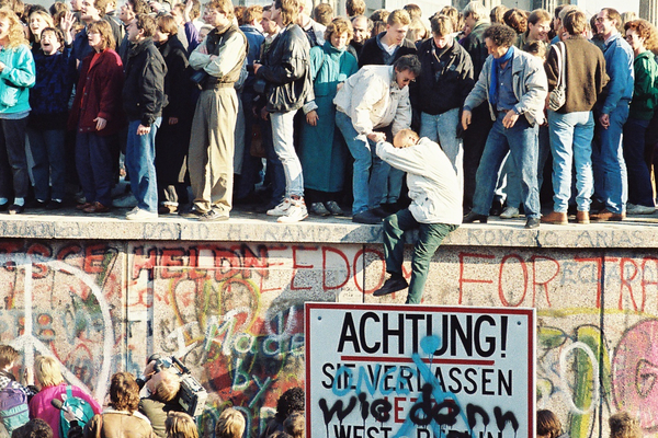 Fall of the Berlin Wall - Attributed to Sue Ream